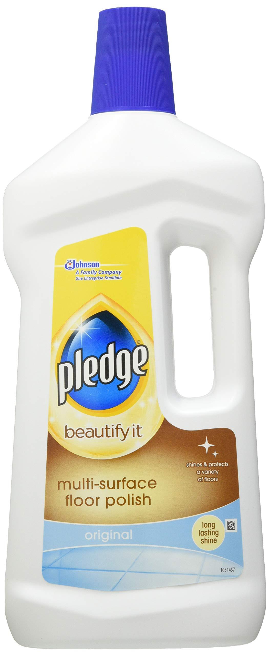 Pledge Beautify It, Multi-Surface Floor Polish Original, 750ml, Pack of 6