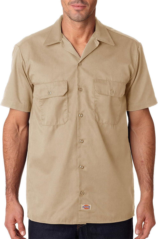 Dickies - Camisa de trabajo de manga corta industrial premium LS508