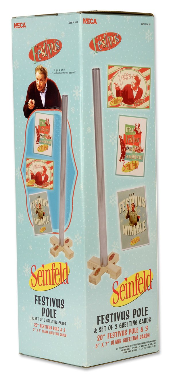 Amazon seinfield accessories 20 festivus pole w 3 amazon seinfield accessories 20 festivus pole w 3 postcards gift set office products m4hsunfo