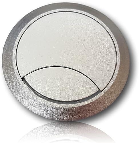 Paso de cable Würth Blanco Aluminio, redondo, diámetro 60 mm ...