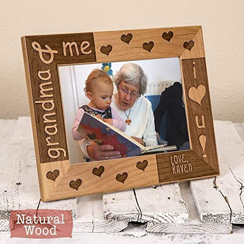 Personalized Grandma Me Picture Frame Gift Grandma And Me Grandma Gift Gifts For Grandparents