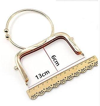 Ownstyle - Monedero de metal, 1 pieza, color dorado, 13 cm ...