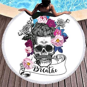 acheter serviette tete de mort online 20