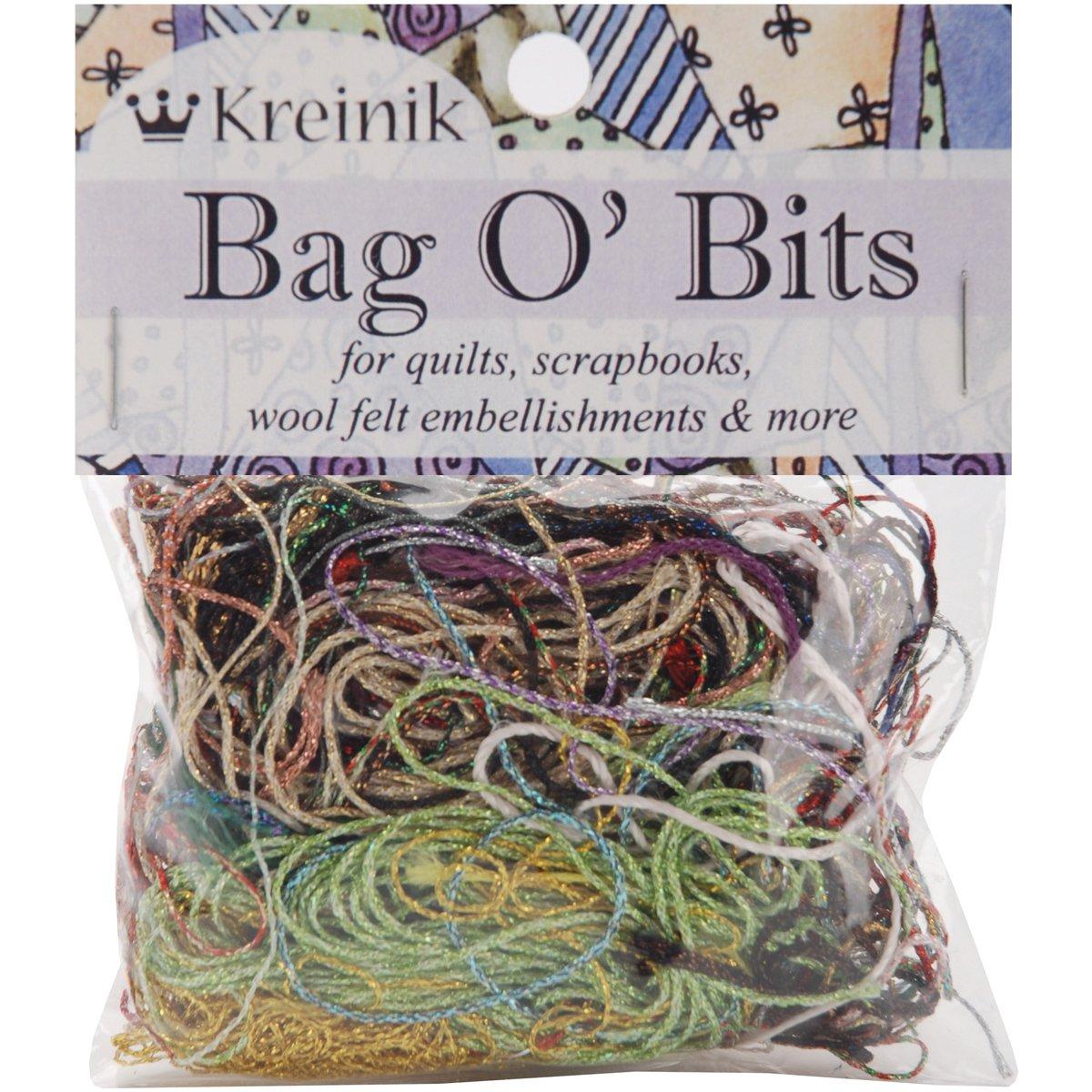 Kreinik KMBITS Thread Bag O Bits Metallic 11-Gram