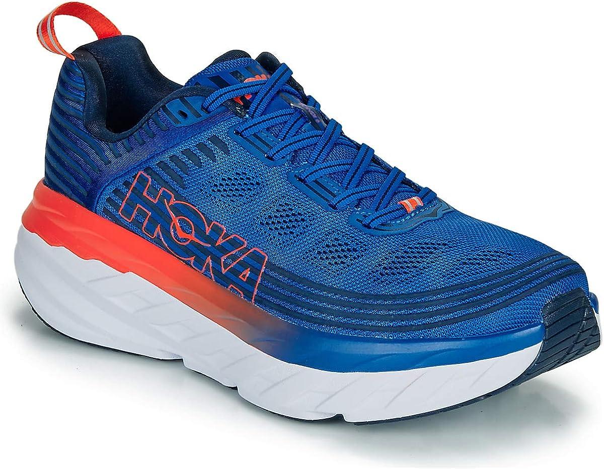 HOKA - M Bondi 6 - Zapatilla de Running para Hombre - Talla 45 1/3 EU: Amazon.es: Zapatos y complementos