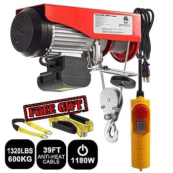 Best utility winch 120v