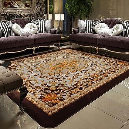 Salón dormitorio dormitorio alfombra mesa de café de la máquina rectangular sofá de tela lavable modernos
