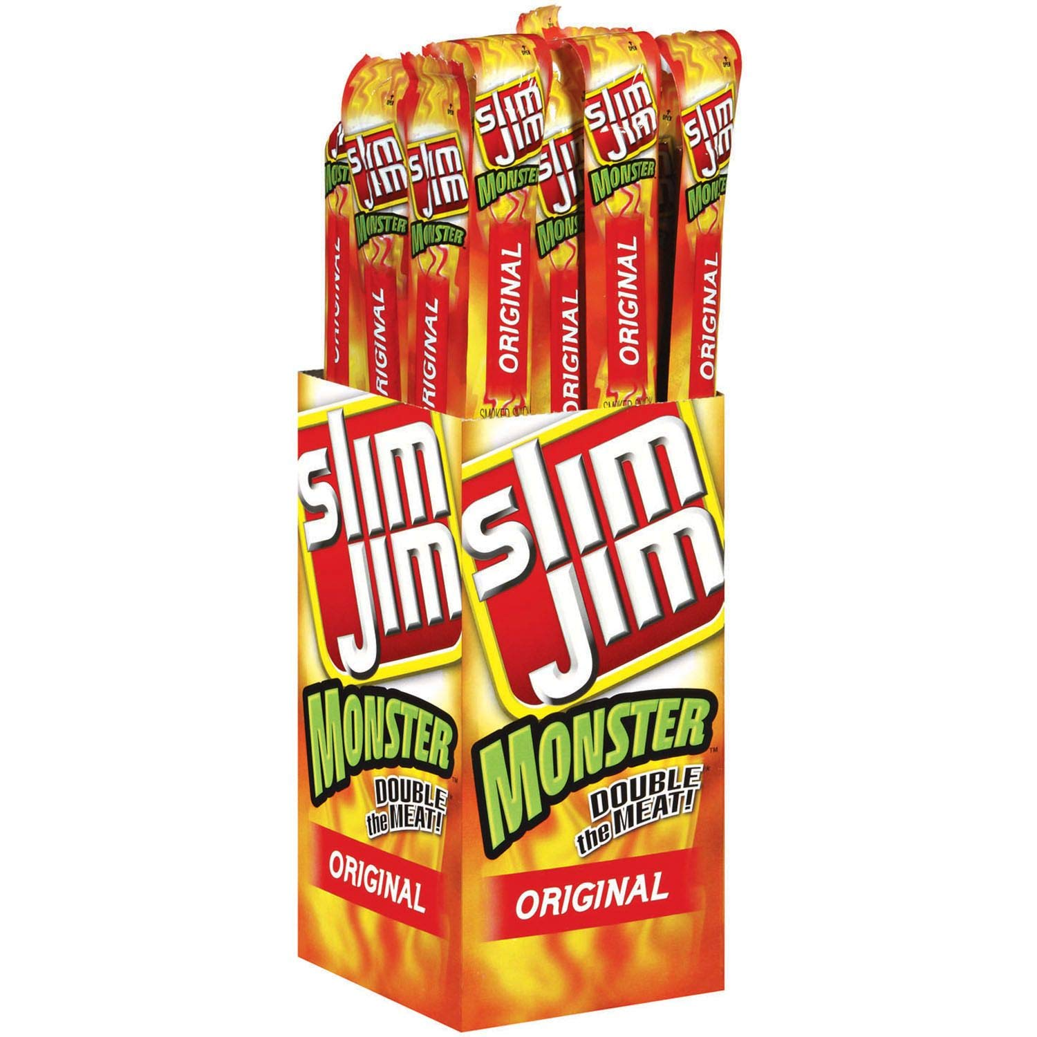 Product of Slim Jim Monster Original (18 ct.) - Jerky [Bulk Savings]