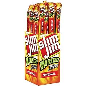 Product of Slim Jim Monster Original (18 ct.) - Jerky [Bulk Savings]