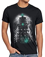 style3 Dalek Dominance T-Shirt Homme who time police doctor box space dr tv
