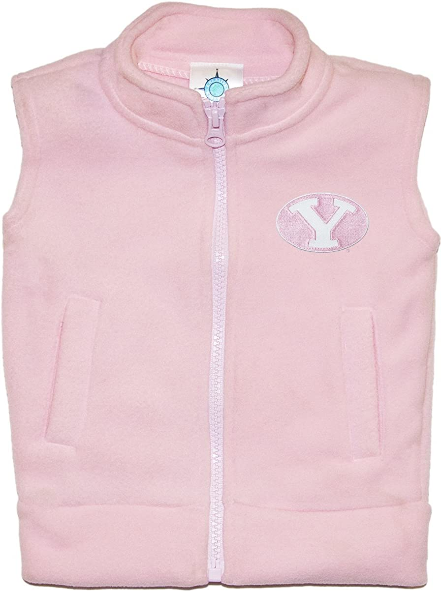 Brigham Young University BYU Cougars Baby and Toddler Polar Fleece Vest
