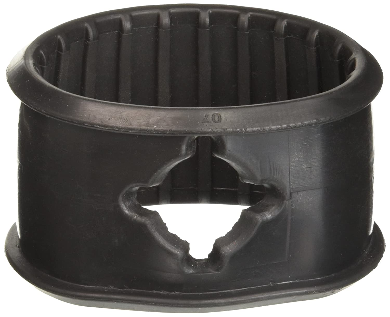 Ashcroft 471B190-01 Rubber Boot, Black, for DG25 Gauge ASHCROFT INC 6833490