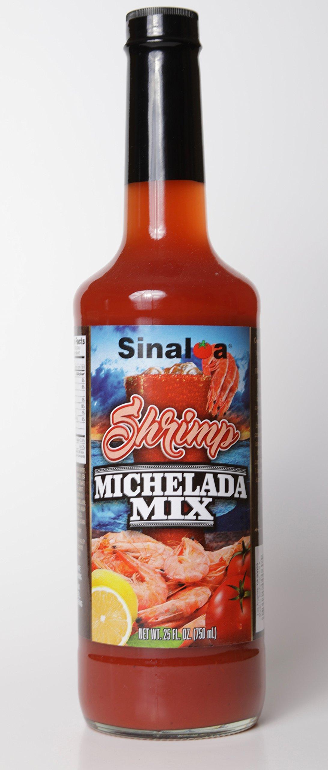 Salsa Sinaloa Shrimp Michelada Mix 25 oz