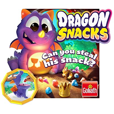 Goliath Games GL31225.006 Dragon Snacks, Fun Memory Game, for Kids Aged 4+: Toys & Games