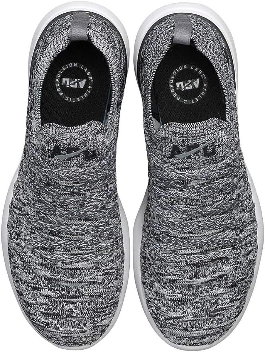 APL Athletic Propulsion Labs Herren Techloom Wave Sneakers Heather Grey Black White