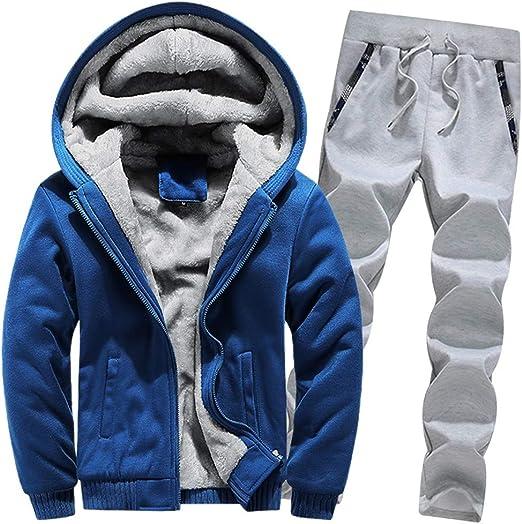 Men/'s Premium Fleece Lined Heavyweight Zip Up Hooded Windbreaker Rain Jacket