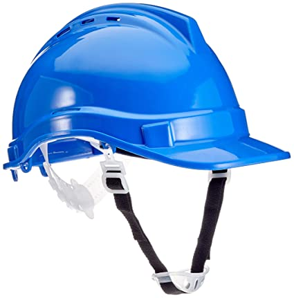 Silverline 633503 - Casco de seguridad (Azul): Amazon.es: Bricolaje ...