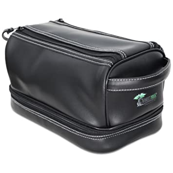 024e57de7c21 Amazon.com   ToiletTree Products Toiletry Bag with TSA Approved Bottles and  Bonus Sonic Travel Toothbrush
