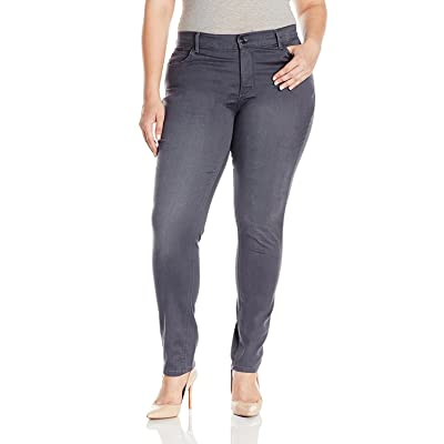 LEE Women's Plus Size Easy Fit Frenchie Skinny Jean at Women's Clothing store