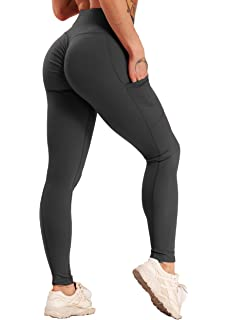 SPFASZEIV Cintura Alta Pantal/ón de Yoga Mujer,Leggings No Transparenta Mallas para Running Fitness Estiramiento Yoga Pilates(4color