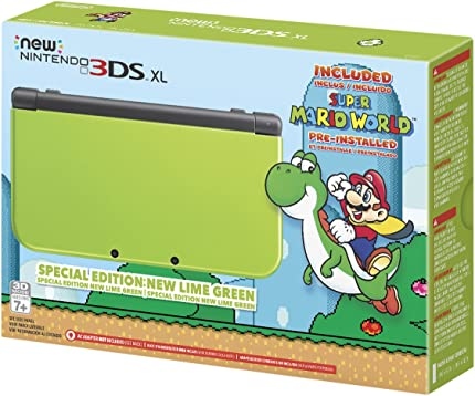 Nintendo New 3DS XL – Lime Green Special Edition Discontinued
