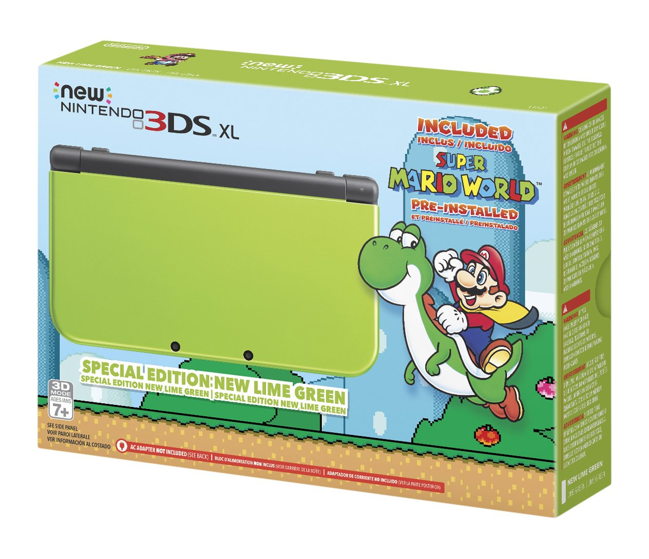 Nintendo New 3DS XL - Lime Green Special Edition [Discontinued] by Nintendo (Image #6)