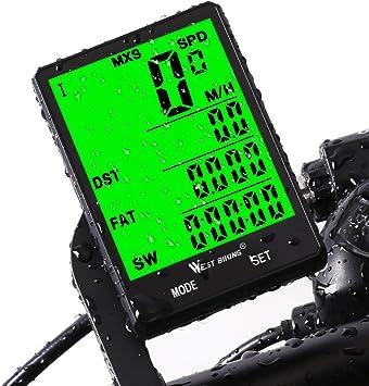 Computadora de bicicleta de ciclo impermeable y cuentakilómetros SY Bicycle co