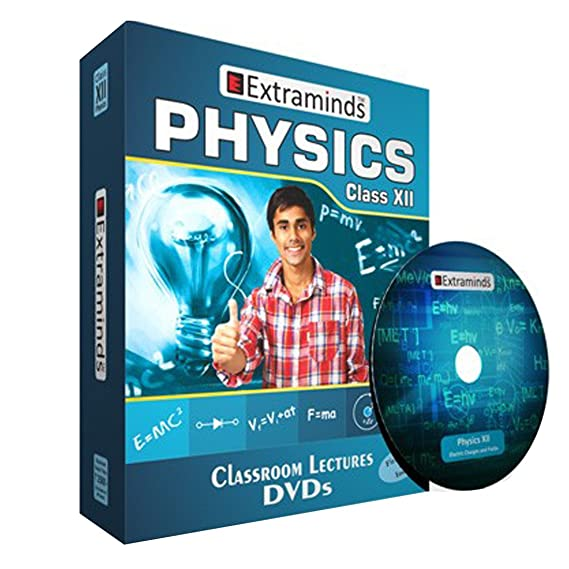 Extraminds Class XII Physics Video Lecture CBSE (DVD)