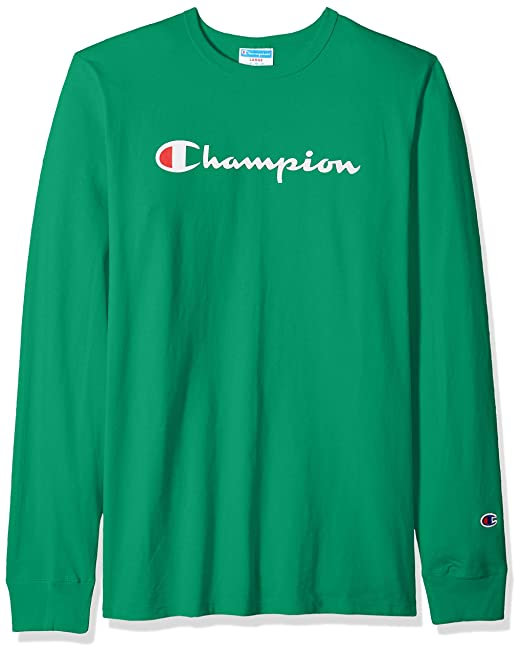 699dc91b4929 Champion Mens Heritage Long Sleeve Tee T-Shirt: Amazon.ca: Clothing &  Accessories