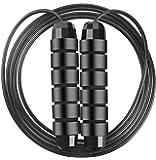 Cuerda para Saltar, Rodamientos de Bolas Cuerda de Salto de Cable de Velocidad Rápida Sin Enredos, Cuerdas de Salto…