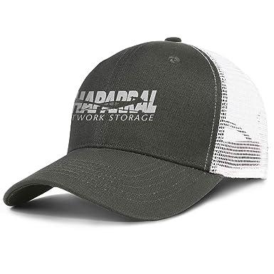 Unisex Mens Womens Decide Perfect Double Strap Baseball Cap Trucker Hats Black