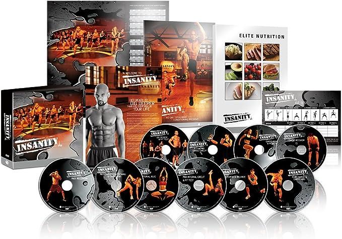 Beachbody DVD Workout - INSANITY Base Kit