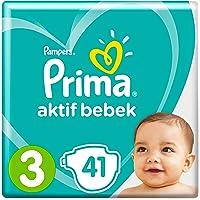 Prima Bebek Bezi Aktif Bebek 3 Beden 42 Adet Midi Paketi