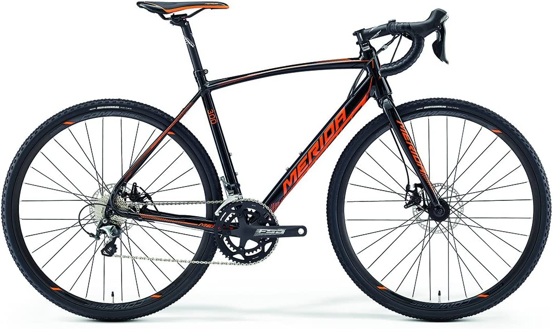 Merida Cyclo Cross 300 Cyclocross Negro/Naranja (2016): Amazon.es ...