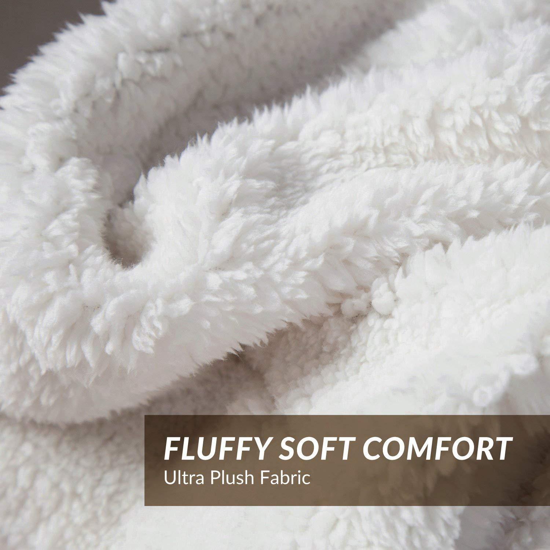 Inshere Sherpa Fleece Blanket- 50\