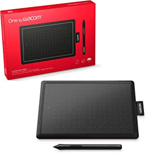 Wacom CTL472 Tableta One by Chica, Color, Pack of/Paquete de 1