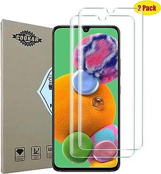 cookaR [2 Piezas Protector de Pantalla Samsung Galaxy A90 5G/A70 ...