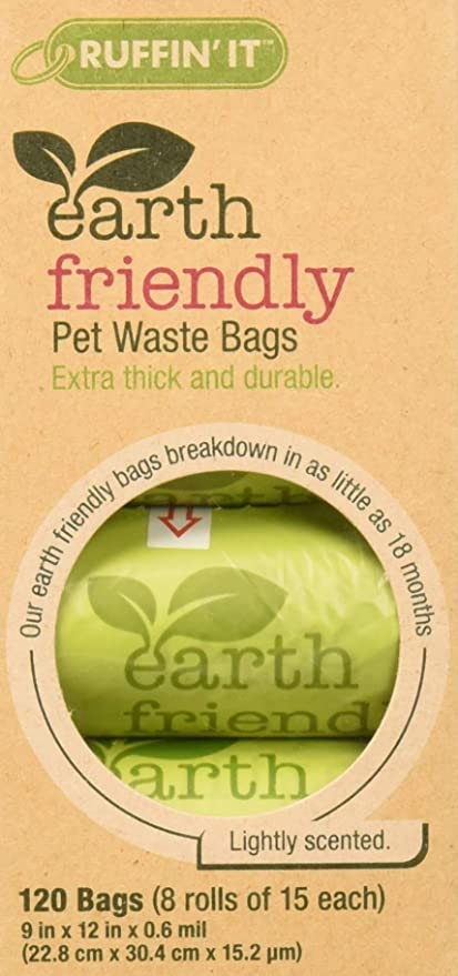 Amazon.com: Ruffin it Earth friendly bolsas de basura para ...