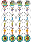 24 Scooby Doo Cupcake Toppers