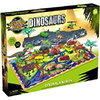 Toys Bhoomi Prehistoric Dinosaur Playset Bricks & Blocks with Play Mat