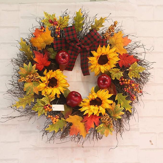 Decoración para el hogar, Corona de Flores, Elevin (TM) 45 ...