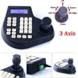 CCTV Joystick Clavier LCD Contrôleur 3Axis for Speed Dome PTZ Camera Control RS485