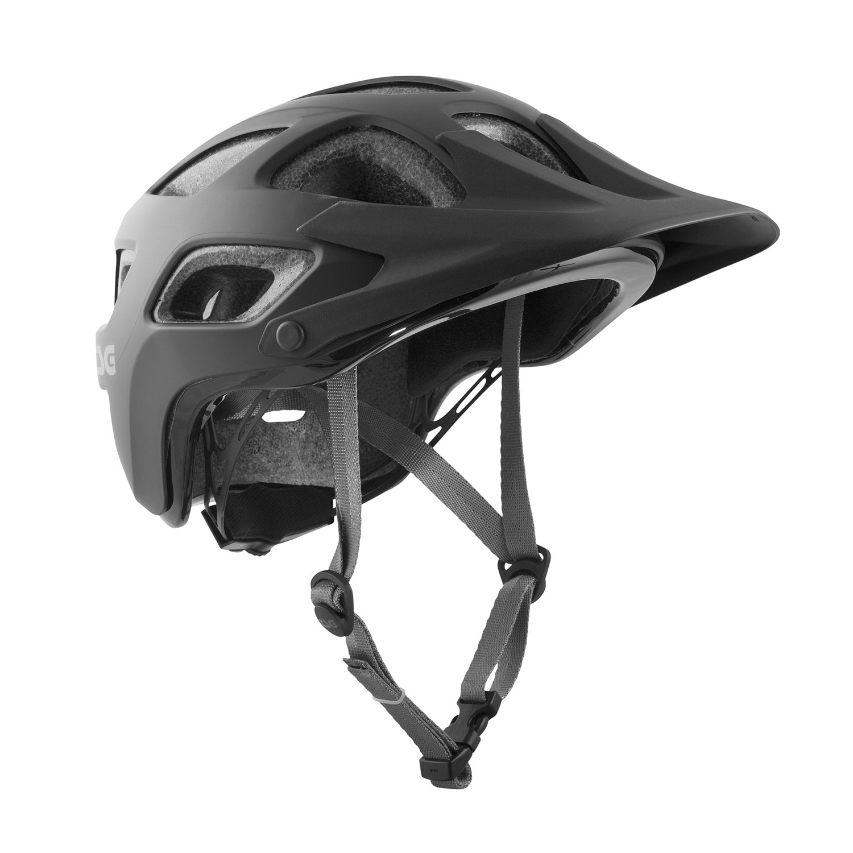 TSG - Seek Solid Color - (satin black, L/XL 58-62 cm) Helmet for Bicycle