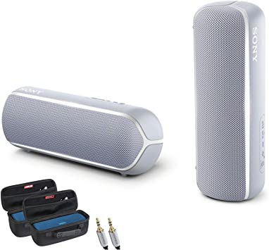 Srsxb22 B Black Sony Srs Xb22 Extra Bass Portable Bluetooth Speaker Electronics Portable Audio Video