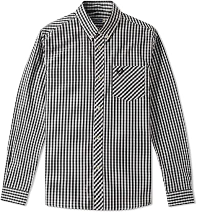Fred Perry Reissues Gingham Shirt M6176 102-40: Amazon.es ...
