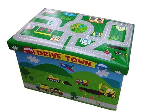 Gmmh hocker cm faltbarer original spielzeugbox