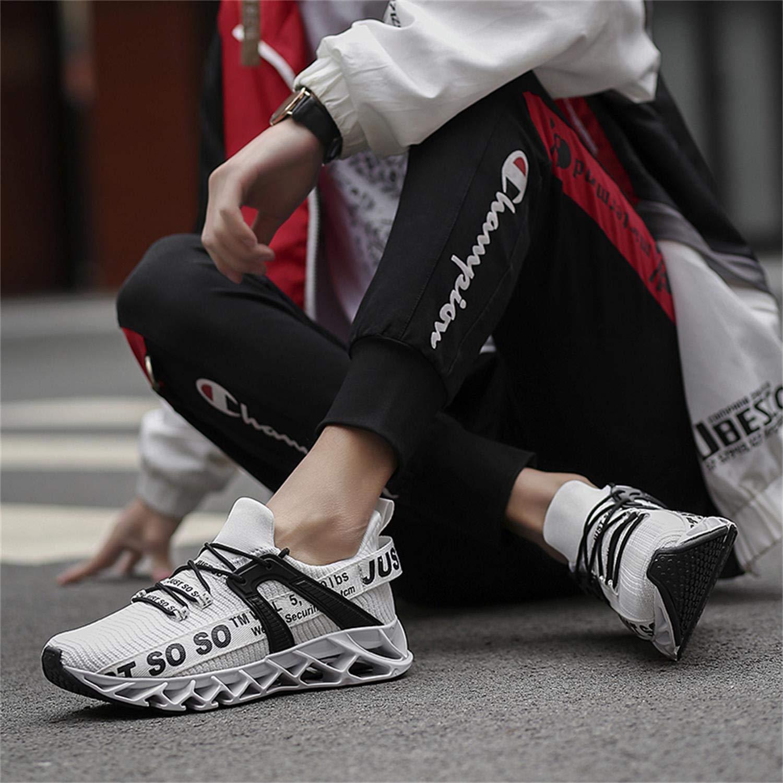 Lingmu Herren Laufschuhe Turnschuhe Fitness Stra/ßenlaufschuhe Atmungsaktiv rutschfeste Mode Lose Sportschuhe