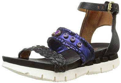 best sneakers c4343 bc691 Airstep AS 98 Cosa 295008, Sandales Femme, Noir (Nero), 36 ...