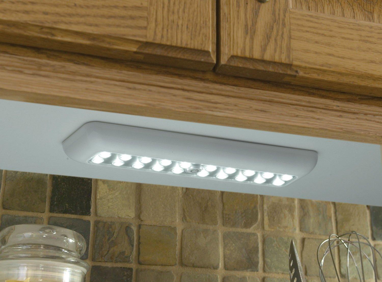 White 30017-308 20-LED Wireless Anywhere Extra Bright Rectangular Light By Fulcrum Light It