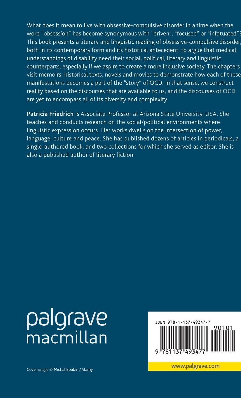 The Literary and Linguistic Construction of Obsessive-Compulsive Disorder: No Ordinary Doubt (Literary Disability Studies) by Palgrave Macmillan